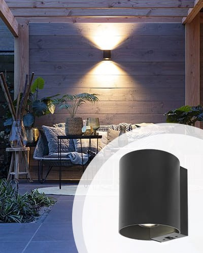 In-Lite Dimmable Outside Wall Light
